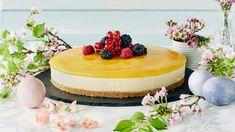 Mangojuustokakku on yksi juhlien kestosuosikki. Herkullisen juutokakun rapea pohja sekä täyteläisen pehmeä täyte tekee kakusta vastustamattomam hemmotteluherkun! Baking Recipes, Cake Recipes, Dessert Recipes, Fancy Desserts, Fancy Cakes, Finnish Recipes, Mango Cheesecake, Fusion Food, Tasty Kitchen