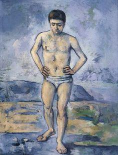 Cave to Canvas, Bather - Paul Cézanne, c. 1885