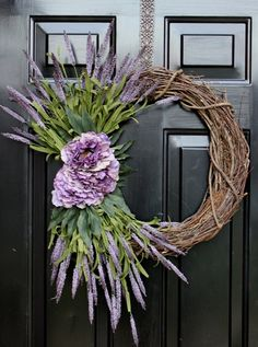 Mother's Day Wreath Summer Wreath Spring Wreaths by OurSentiments Wreath Crafts, Diy Wreath, Door Wreaths, Grapevine Wreath, Wreath Ideas, Diy Crafts, Tree Crafts, Holiday Wreaths, Christmas Tree Decorations