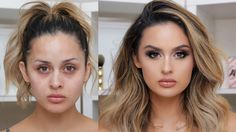 Full Coverage Glam Makeup Tutorial - Make up hacks Best Makeup Tutorials, Everyday Makeup Tutorials, Makeup Tutorials Youtube, Best Makeup Products, Makeup Ideas, Makeup Trends, Face Products, Beauty Tutorials, Makeup Blog