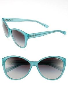 Retro mint cat's eye sunnies