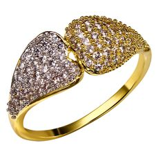 Find More Rings Information about Romantic Lover Heart Engagement Ring for Women 18K Real Gold & Platinum Plated Women's Party Ring Ring Made With AAA CZ  Rings,High Quality ring napkin,China ring lord of the rings Suppliers, Cheap ring pop ring from HY Fashion Jewelry on Aliexpress.com