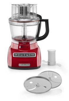 8. KitchenAid KFP1322ER 13-Cup Food Processors