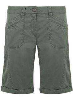 Khaki casual long short