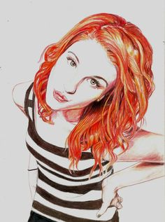 Hayley Williams - Paramore by ~Pevansy on deviantART