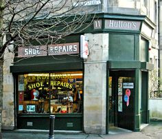 Shoe Repair Shops /  Few and far between.