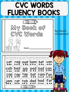 This product contains two student booklets with CVC words. The first one will ask the students to read CVC words in order to develop phonological awareness and word recognition. The second one will ask the students to practice reading CVC words in the context of a short passage.Each sound in the word is represented by a dot.