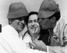 Most unseen photos of Kapoor family: The older Kapoor siblings, Shammi, Shashi & Raj.