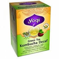 Yogi Green Kombucha Decaf Tea (3x16 bag) >>> You can find more details by visiting the image link.