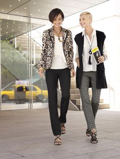 Broadway Bold: A head turning #jacket in #leopard print will give your look a…