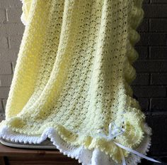 Baby Afghan Pattern by Terry Kimbrough   by cmuralidhara, via Flickr