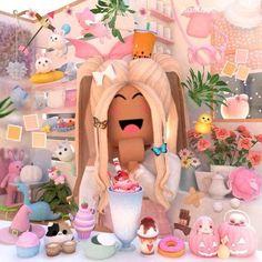 Cute Tumblr Wallpaper, Soft Wallpaper, Cute Girl Wallpaper, Wallpaper Iphone Cute, Roblox Roblox, Play Roblox, Cute Profile Pictures, Pretty Pictures, Cute Giraffe Drawing