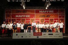 SM el Rey Felipe VI Entrego los premios de la Copa del Rey de vela.  07-08-2016