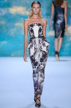 Monique Lhuillier Spring 2013 Ready-To-Wear