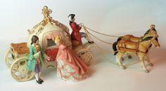 cindarella's carriage ride music box