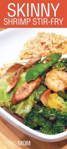 Skinny Shrimp Stir-Fry! Don't order fattening Chinese food, make your own healthy and delicious food at home!