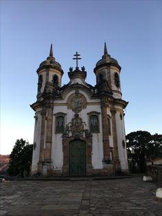 Igreja São Francisco de Assis em Ouro Preto - MG