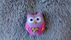 Felt Owl / Valentine Gift / Key Chain/ Christmas by MyCraft2You