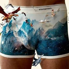 Shop Australian underwear brand Stonemen online - Men's and Women's underwear featuring unique printed Briefs, Trunks and Boxer Briefs.