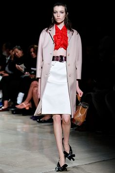 Spring 2015 RTW : Paris Fashion Week : Miu Miu