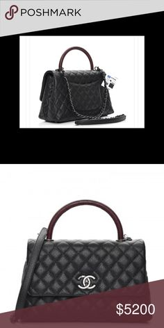 a1c3bf1e46a2 New Chanel coco handle Brand new 100%Authenticity CHANEL Bags Shoulder Bags