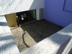 Luis Barragan's Casa Gilardi - view of the patio