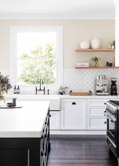 Modern Shaker-style kitchen | Home Beautiful Magazine Australia