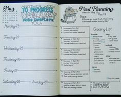 How to Set Up Your Bullet Journal: A Step by Step Guide {STEP 4: Weekly Spreads}
