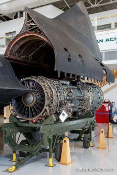Pratt & Whitney J-58 engine for SR-71 Blackbird