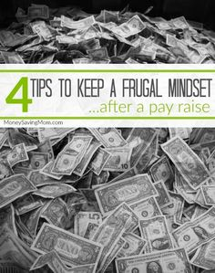 After my husband's pay raise and our increased spending, I began to think about how I could change my mindset back to my frugal days even though our income is no longer as strained as it once was. I'm now implementing four strategies to maintain my frugal mindset...