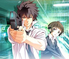 Psycho-Pass ♥♥♥♥ In the future, cops can instantly measure a person's state of mind to determine their criminal tendency and immediately pass judgement on them. Police are divided into Enforcers (criminals under the Psycho-Pass system who are used to hunt other criminals) and Inspectors (normal cops assigned to oversee Enforcers). Naive rookie Akane Tsunemori is paired with Shinya Kōgami, an enforcer with a long history. (A bit Ghost in the Shell, with a hero kinda like Spike from Cowboy…