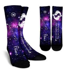 Crew Socks - Zodiac - Pisces Horoscope