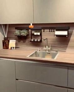 Kitchen Pantry Design, Luxury Kitchen Design, Home Decor Kitchen, Interior Design Kitchen, Kitchen Furniture, Kitchen Ideas, Furniture Design, Modern Kitchen Renovation, Kitchen Remodeling