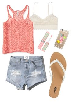 """""""6/24/15"""" by ahoitt ❤ liked on Polyvore featuring Aéropostale, Abercrombie & Fitch, Charlotte Russe and Casetify"""