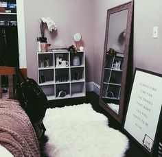 48 cute girls bedroom ideas for small rooms 13 Small Room Bedroom, Dorm Room, Bedroom Black, Master Bedroom, Bedroom Ideas For Small Rooms Diy, Tv Stand In Bedroom, Adult Bedroom Ideas, Young Adult Bedroom, Black Bedrooms