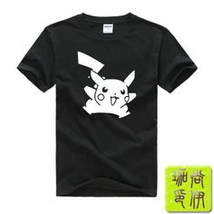 69e61d2e79 Digimon anime Pokemon Pikachu Printed Mens Men T Shirt Camisetas Masculinas  2015 Manga Curta Camisa Masculina