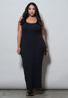 plus-size-fashion black
