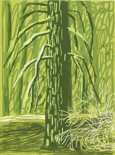 """David Hockney, '""""Untitled No. 18"""" from """"The Yosemite Suite""""', 2010"""
