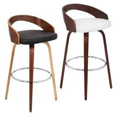 Boraam Melrose 24″ Swivel Bar Stool with Cushion
