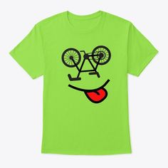 Add some fun to your bicycle wardrobe with this funny smiling bike face design or give it as the perfect gift! Just select your color and size and BUY IT NOW Sports, Riding, Bike, Cycling Shirt, Birthday Gift, Sports, bicycling, ride, bike, cycle, pedals, handlebars, gears, mountain, race, Joke, Gag, Sarcastic, Perfect Gift, Gift for Father, Mother, Dad, Mom, Brother, Sister, Son, Daughter, Grandfather, Grandmother, Grandpa, Grandma, Friend, Athlete, Player, Fan, Fanatic, for all occasions Bike Shirts, Face Design, Brother Sister, Gifts For Father, Cool Tees, Tshirts Online, Cycling, Bicycle, Gift Ideas