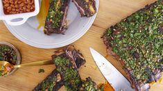 Ryan Scott's Grilled Chimichurri Dinosaur Ribs Recipe