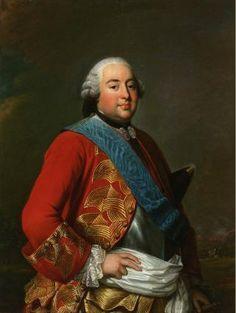Louis Philippe I d'Orléans (1725-1785) duc d'Orléans by Alexander Roslin, 1770