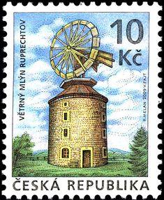 2009: Windmill - Ruprechtov (צ 'כיה) (Technical monuments) Mi:CZ 607,AFA:CZ 610
