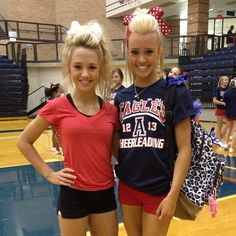Jamie Andries- cheer athletics cheetahs, allstar cheer AND high school cheerleader- Allen high school Eagles . OMG!!!! shes so amazing!