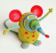 De colores raton