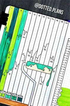 Bullet Journal Mood Tracker Ideas, Bullet Journal Paper, Creating A Bullet Journal, Bullet Journal Lettering Ideas, Bullet Journal Notebook, Bullet Journal Aesthetic, Bullet Journal School, Bullet Journal Themes, Bullet Journal Inspiration
