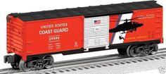 Lionel Trains US Coast Guard Boxcar 6-29999  DIECAST MODEL     WHY US COAST GUARD??
