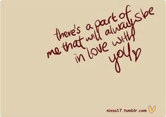 Always be in love with you!