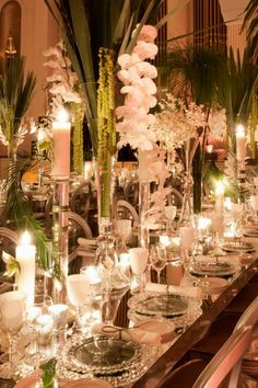 Insanely gorgeous table display from Grace Ormonde Wedding Magazine