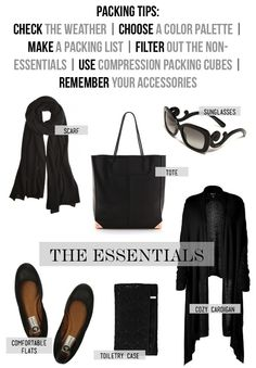 Packing Tips + Travel Essentials...Plus some other great blogs about travel.